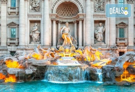 Вечният Рим Ви очаква през септември! 3 нощувки със закуски, самолетен билет и летищни такси, трансфер и панорамна обиколка - Снимка 3