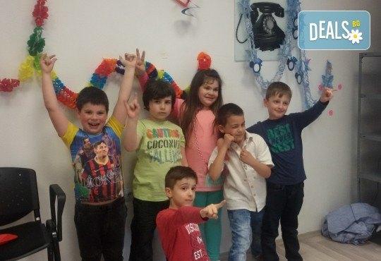 Детски рожден ден в Детски център Приказен свят на супер цена! Зала за 10 деца, зала за възрастни, напитки, пица, украса, аниматор и DJ! - Снимка 7