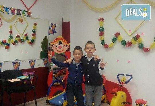Детски рожден ден в Детски център Приказен свят на супер цена! Зала за 10 деца, зала за възрастни, напитки, пица, украса, аниматор и DJ! - Снимка 8