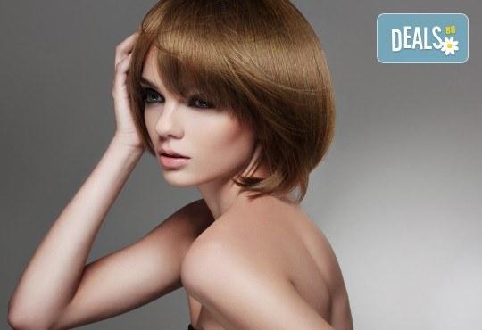 Посрещнете есента с нов цвят и прическа! Подстригване и боядисване на коса от салон Ди Ес! - Снимка 2