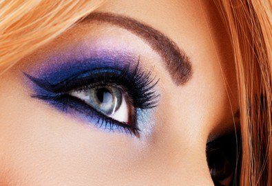Красив поглед! Поставяне на мигли косъм по косъм - копринени или от норка при специалист естетик в Салон Miss Beauty! - Снимка