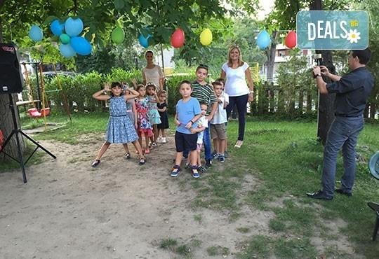 DJ - aниматор и озвучаване за детски Рожден или Имен ден 120 минути и подарък украса от балони! На избрано от Вас място! - Снимка 5