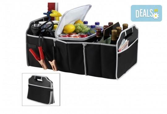 Вземете органайзер за багажник EZ Trunk Organizer с хладилно отделение от За теб и мен! - Снимка 1