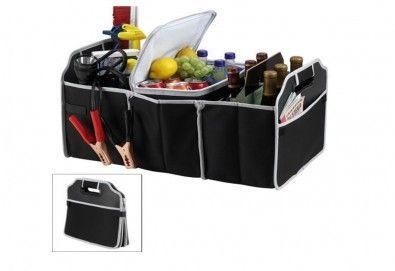 Вземете органайзер за багажник EZ Trunk Organizer с хладилно отделение от За теб и мен! - Снимка