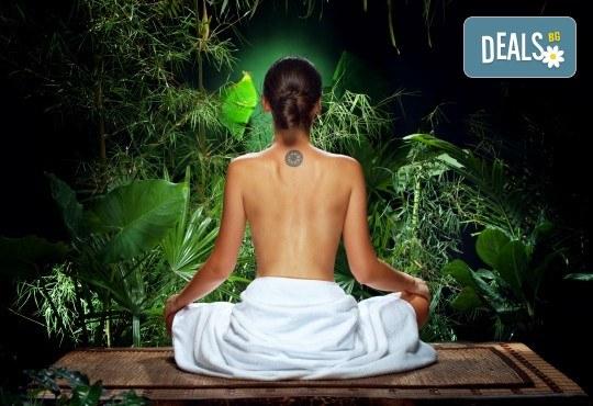 Младост, жизненост и красота! 60-минутен аюрведичен йога масаж в Wellness Center Ganesha! - Снимка 1