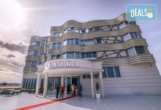Посрещнете Нова Година 2018 в Лесковац в хотел Bavka 3*! 2 нощувки със закуски и вечеря, Празнична вечеря с музикална програма, транспорт - Снимка 2