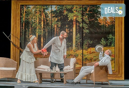 На театър! Асен Блатечки, Койна Русева, Калин Врачански в Малко комедия, на 15.10. от 19ч, Театър Сълза и Смях, 1 билет - Снимка 3