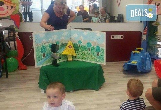 Три часа детски рожден ден за деца от 2 до 6 год. с включен куклен театър, безалкохолни напитки и зала за родителите от детски център Приказен свят - Снимка 2