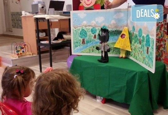 Три часа детски рожден ден за деца от 2 до 6 год. с включен куклен театър, безалкохолни напитки и зала за родителите от детски център Приказен свят - Снимка 4