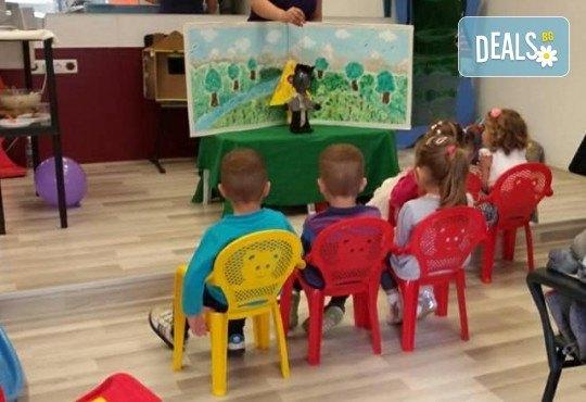 Три часа детски рожден ден за деца от 2 до 6 год. с включен куклен театър, безалкохолни напитки и зала за родителите от детски център Приказен свят - Снимка 5