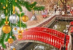 Коледна приказка с Бек Райзен! Екскурзия до Кавала, Драма и Онируполи - 1 нощувка със закуска в хотел 2/3*, транспорт и програма - Снимка