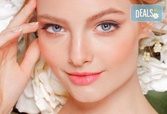 Подмладяваща фототерапия на лице, включваща дълбоко почистване, ревитализиращ продукт и финален вибромасаж, от Sunflower Beauty Studio - Снимка 1