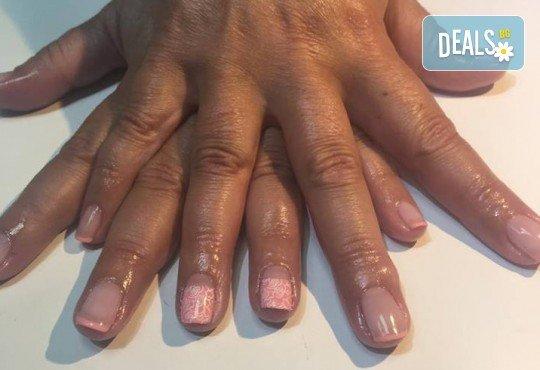 Прекрасни ръце! Маникюр с гел лак BlueSky, 4 рисувани декорации или вграждане на елементи при маникюрист на BM Hair Studio! - Снимка 5