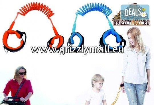 За безопасността на Вашия малчуган! Вземете повод за деца от Grizzly Mall - Снимка 2