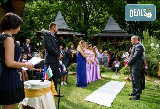 За Вашата сватба! Водене на изнесен ритуал по индивидуален сценарий на избрана локация от младоженците в рамките на София, от MUSIC for You! - Снимка 6