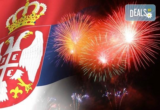Нова година в Нишка баня, Сърбия! 2 нощувки със закуски в частни вили, Празнична вечеря с жива музика и неограничен алкохол в Гурманова тайна, транспoрт - Снимка 1