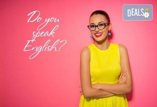 Разговорен курс по английски език на ниво B1 с включени учебни материали в езиков център Полиглота! - Снимка 1