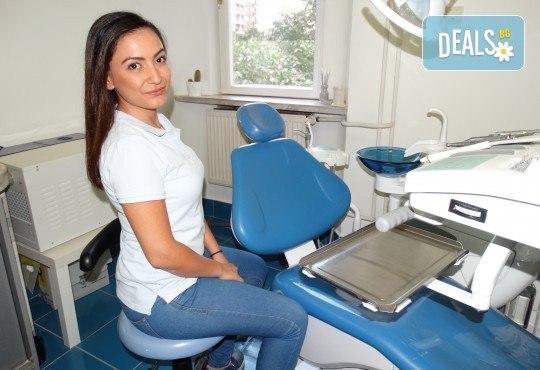 Бляскава усмивка с почистване на зъбен камък и полиране с Аr flow + обстоен преглед от Дентално студио Младост - Снимка 4