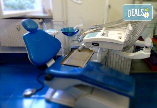 Бляскава усмивка с почистване на зъбен камък и полиране с Аr flow + обстоен преглед от Дентално студио Младост - Снимка 3