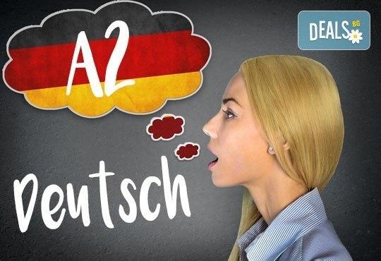 Немски език, ниво А2, 80 уч.ч., вечерен или съботно-неделен курс, начални дати октомври, в УЦ Сити! - Снимка 1