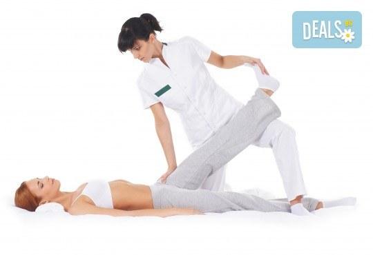 Физиотерапевтичен, лечебен масаж на цяло тяло при травми и дисфункции на опорно-двигателния апарат в холистичен център Physio Point! - Снимка 2
