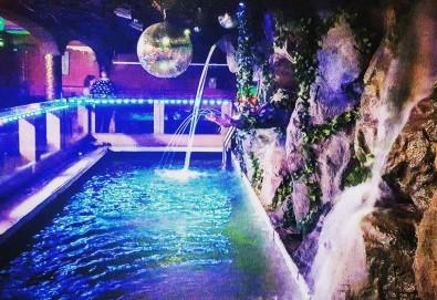 За Вашето парти! Наем на помещение за 2 часа с вътрешен отопляем басейн от Obsession Club - Снимка
