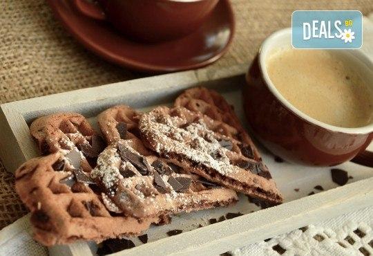 Апетитно и изгодно! Вземете вкусна гофрета и кафе от Obsession Club - Снимка 2