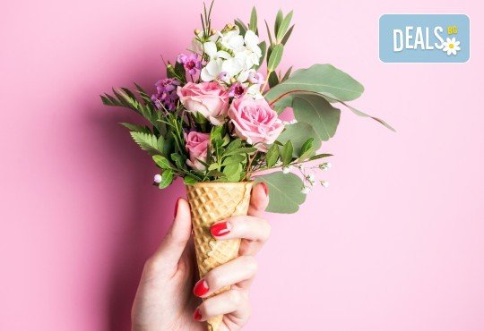 Дълготрайни и красиви цветове с маникюр с гел лак Bluesky или Shellac в салон за красота Респект - Снимка 1