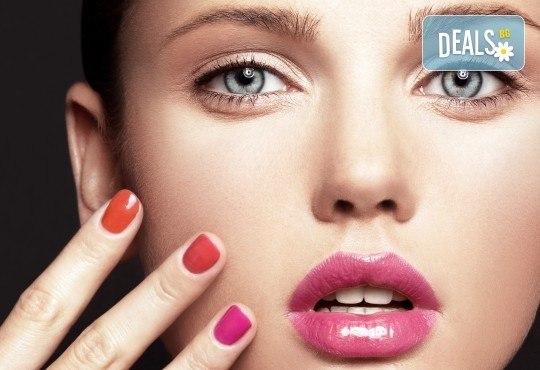 Бъдете забележителни с маникюр с гел лак BlueSky и ефект термо лак или котешко око + декорации в Студио за красота MNJ! - Снимка 3