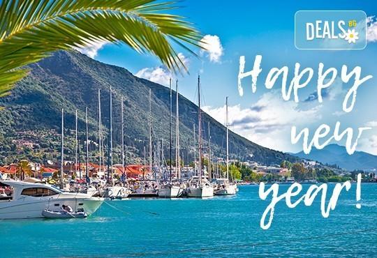 Нова година на красивия остров Лефкада, Гърция! Екскурзия с 3 нощувки, 3 закуски и 2 вечери в Lefkas 3*+, транспорт и водач от Българият Травъл! - Снимка 1