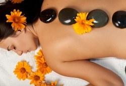 120-минути тибетски шелс микс - масаж с раковини на цяло тяло, Hot Stone терапия и вълнова терапия в център GreenHealth - Снимка