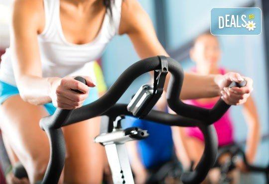 Раздвижете тялото си и оформете перфектна фигура с 4 посещения на спининг в BB sport centre - Снимка 1