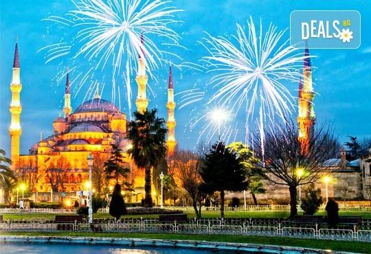 Нова година, Истанбул: 2 нощувки със закуски, хотел 3*, бонус програма,водач и транспорт!