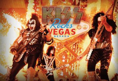 Само в Кино Арена! Прожекция на концерта KISS Rocks Vegas! На 31.10. от 20ч., в Premium и LUXE зали на Кино Арена в страната! - Снимка