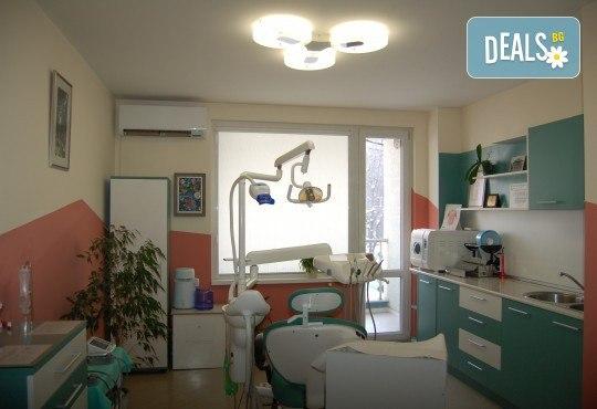 Обстоен преглед, план на лечение, почистване на зъбен камък, полиране с Air Flow и професионално избелване, от МР Дент - Снимка 4