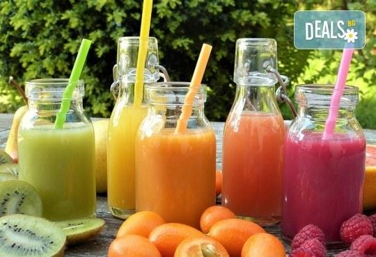 Парти оферта! 10 литра фреш от 1, 2 или 3 вида по избор на супер цена от Fresh & GO! - Снимка 1