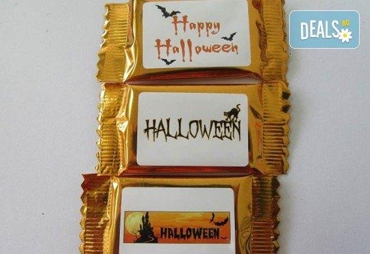 16 броя шоколадови късметчета от оригинален белгийски шоколад Callebaut в луксозна кутия от Choco Compliment - Снимка 2