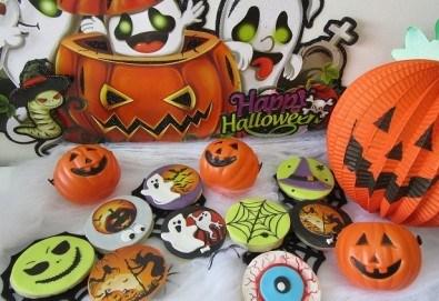 Страшно вкусни! 8 тематични бисквитки за Хелоуин със захарен фондан от Choco Compliment - Снимка