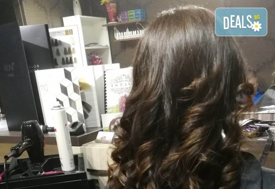 Масажно измиване на косата, нанасяне на подхранваща маска, оформяне със сешоар и бонус: оформяне на плитки в студио IGUANA, Мусагеница! - Снимка 2