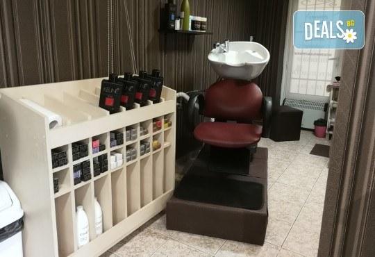 Масажно измиване на косата, нанасяне на подхранваща маска, оформяне със сешоар и бонус: оформяне на плитки в студио IGUANA, Мусагеница! - Снимка 12