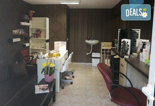 Масажно измиване на косата, нанасяне на подхранваща маска, оформяне със сешоар и бонус: оформяне на плитки в студио IGUANA, Мусагеница! - Снимка 9