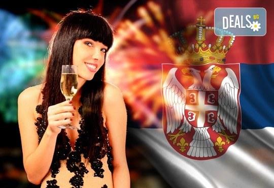 Нова година по сръбски! 2 нощувки със закуски в Hotel Gros 2* в Лесковац, 1 вечеря с жива музика, транспорт, посещение на Ниш и Пирот - Снимка 1