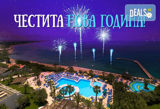 Нова година във Fantasia De Luxe 5*, Кушадасъ, Турция! 3 или 4 нощувки на база All Inclusive и Новогодишна вечеря, възможност за транспорт! Безплатно настаняване за дете до 12 години! - Снимка 1