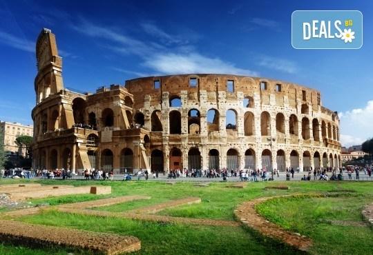 Самолетна екскурзия до Рим, Италия: 3 нощувки, 3 закуски, билет, летищни такси и трансфери