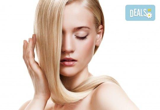Масажно измиване с подхранващ шампоан, подстригване и подсушаване в студио за красота Д&В! - Снимка 2