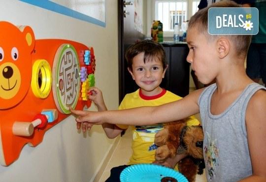 Английски за малчугани от 3 до 6 г. по метода Montessori, 2 посещения по 1 уч.ч., група 2 - 6 деца, събота от 12:30ч в Образователна академия Smile - Снимка 3