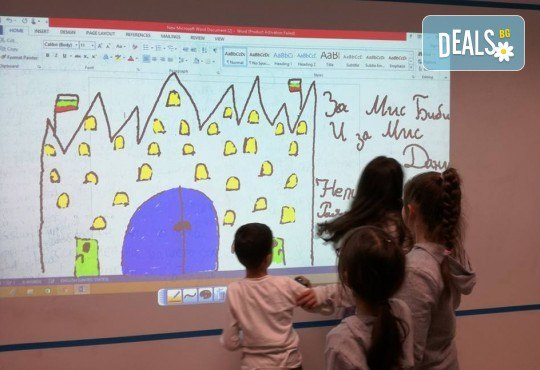 Английски за малчугани от 3 до 6 г. по метода Montessori, 2 посещения по 1 уч.ч., група 2 - 6 деца, събота от 12:30ч в Образователна академия Smile - Снимка 4
