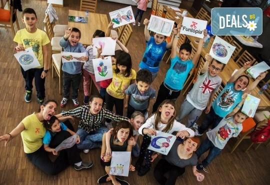 Еднодневна активна занималня с много забавления и приключения, с включено тристепенно меню от Funtopia само от 1 до 3 ноември за деца от 6 до 12 г.! - Снимка 11