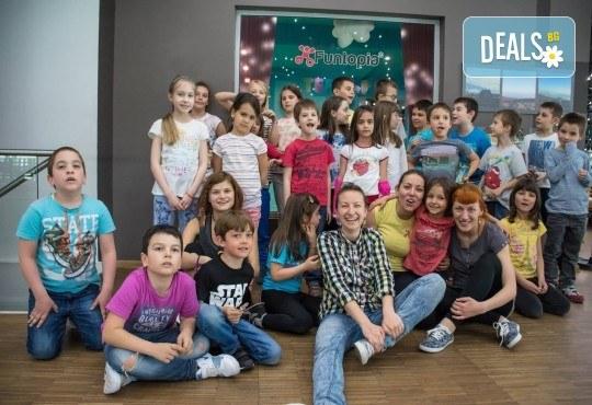 Еднодневна активна занималня с много забавления и приключения, с включено тристепенно меню от Funtopia само от 1 до 3 ноември за деца от 6 до 12 г.! - Снимка 16