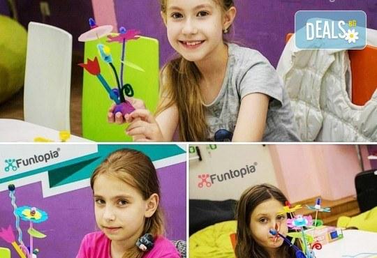 Еднодневна активна занималня с много забавления и приключения, с включено тристепенно меню от Funtopia само от 1 до 3 ноември за деца от 6 до 12 г.! - Снимка 9
